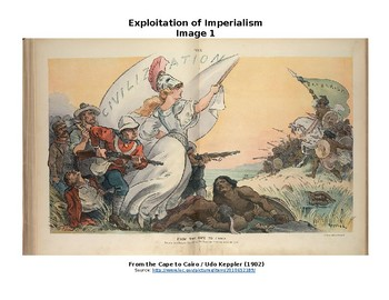 Imperialism Imagery Analysis  with Graphic Oraganizer