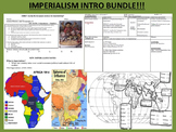 Imperialism Intro Bundle - Close Reads + Interactive Maps + Trick to Remember!!!