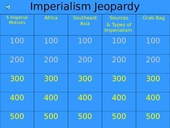Jeoprady Game