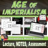Imperialism Lecture, Cornell Notes, Graphic Organizer - Pr