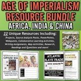 Age of Imperialism MEGA Resource Bundle (Africa, India and China!)
