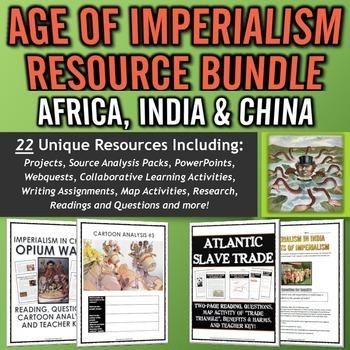 Age of Imperialism MEGA Resource Bundle (Africa, India and China!)