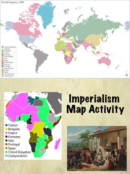 Imperialism maps teaching resources teachers pay teachers gumiabroncs Gallery