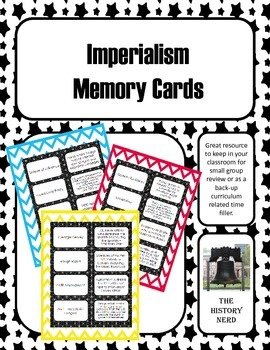 Imperialism Memory Cards