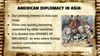 Imperialism:  New American Diplomacy power point and outline