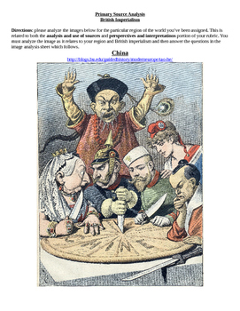 Imperialism--Primary Source Analysis