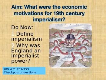 Imperialism Socratic Seminar