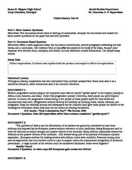 Imperialism Socratic Seminar documents