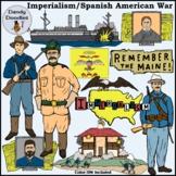 Imperialism Spanish / American War Clip Art