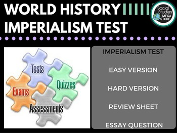 Imperialism Test and Quizzes