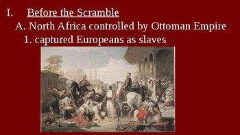 Imperialism - The Partition of Africa PowerPoint