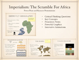 Imperialism: The Scramble For Africa PowerPoint and Keynote Presentation