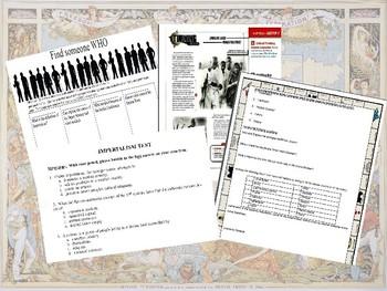 Honors World History - Imperialism Unit Bundle