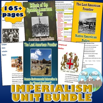 Imperialism Unit / Imperialism *Unit Bundle* (World History / U.S. History)