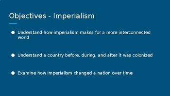 Imperialism Vocabulary PPT