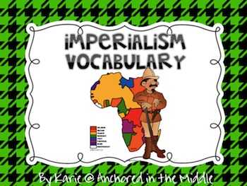 Imperialism Vocabulary PowerPoint
