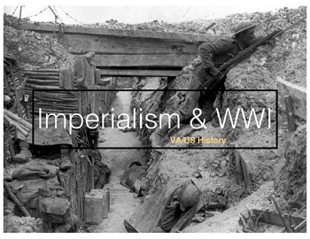 Imperialism & WWI PowerPoint