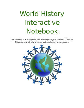 Imperialism - World History - Digital Interactive Notebook