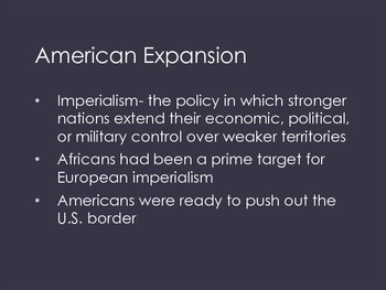 Imperialism and America