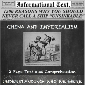 Imperialism and China