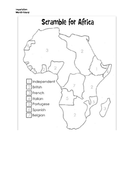 Imperialism and Colonialism Packet