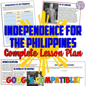 Imperialism and Independence for the Philippines Lesson Plan