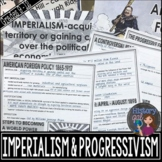 Age of Imperialism and Progressive Era PowerPoint and Guided Notes