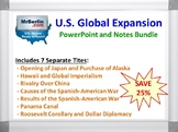 Imperialism and U.S. Global Expansion PowerPoint and Notes Bundle