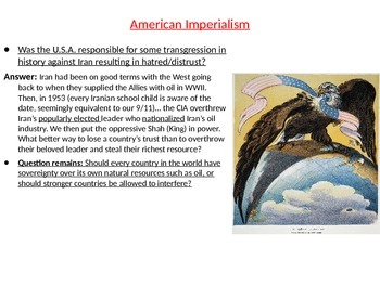 Imperialism and the Spanish-American War Bundle