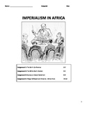 Imperialism in Africa - Berlin Conference - White Man's Burden