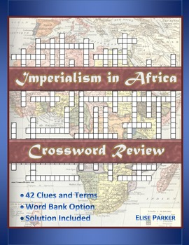 Imperialism in Africa Crossword Puzzle Review