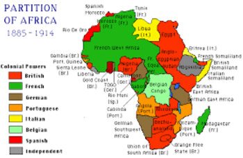 Imperialism in Africa PowerPoint