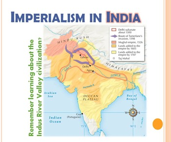 Imperialism in Asia: India and China