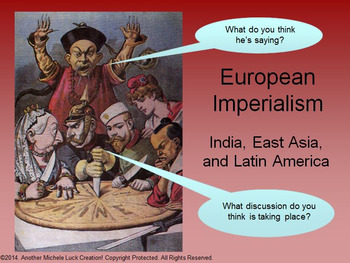 Imperialism in Asia and Latin America Powerpoint Lecture Notes