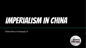 Imperialism in China - Google Slides