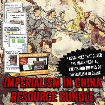 Imperialism in China - Resource Bundle (PowerPoint, Webque