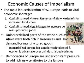 Imperialism in the 18th & 19th Century: Causes & Effects