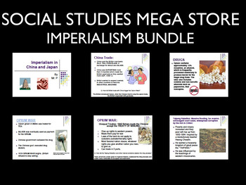 Imperialism Africa India China and Japan Reading Writing Activity World History