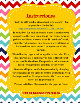 Impersonal Se Authentic Reading Practice