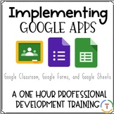 Implementing Google Apps {A Professional Development Training}