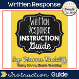 Implementing Instruction for Written Response [FREE]