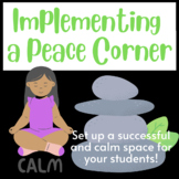 Implementing a Peace Corner