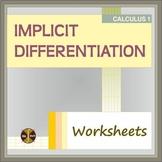 Calculus Differentiation: IMPLICIT DIFFERENTIATION ( 2 WS