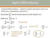 Implicit Differentiation (PP)