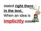 Implicit and Explicit Visuals