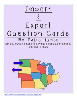 Import & Export Question Cards and Sort