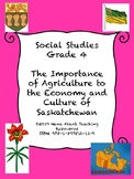 Importance of Agriculture to the Culture and Economy of Saskatchewan