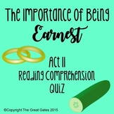 The Importance of Being Earnest Act II Quiz