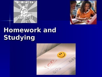 Importance of Homework / Homework Tips lesson for your Students