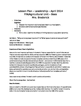 Importance of Honey Bees